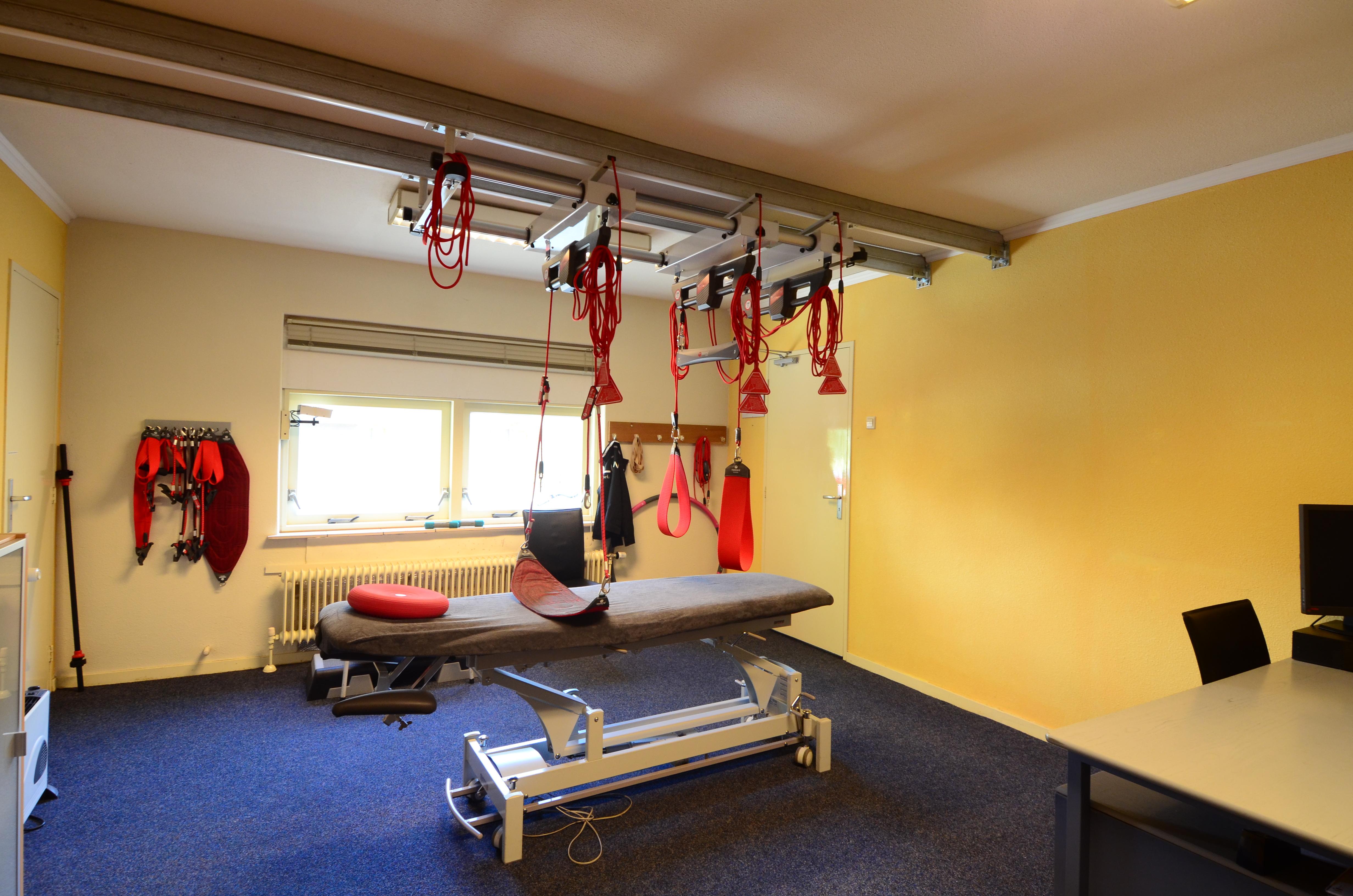 Een van onze fysiotherapieruimtes