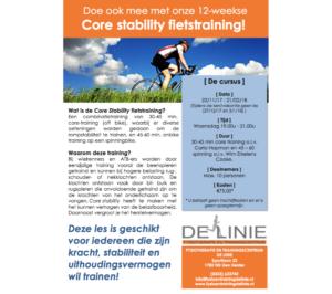 core stability fietstraining