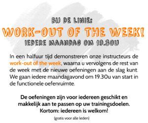 workoutoftheweek de linie