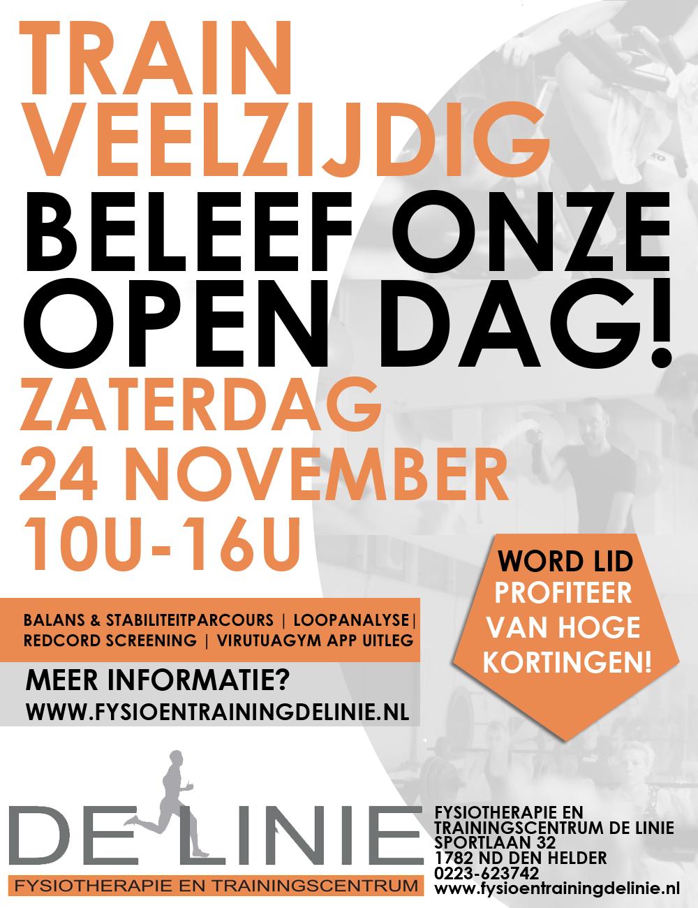 Kom naar onze Open Dag!
