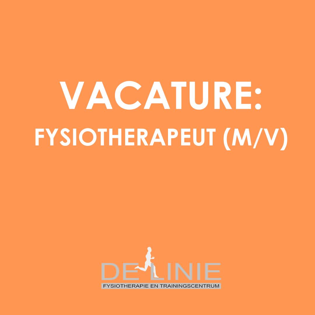 Vacature: fysiotherapeut